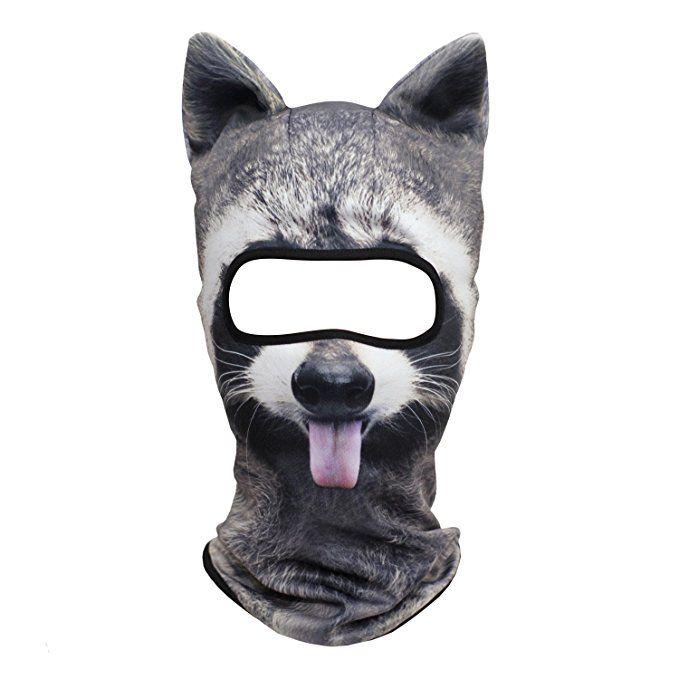Raccoon balaclava